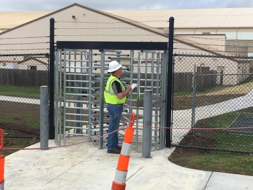 Gates, Stairs and Walkways Repair – McConnell AFB, Kansas