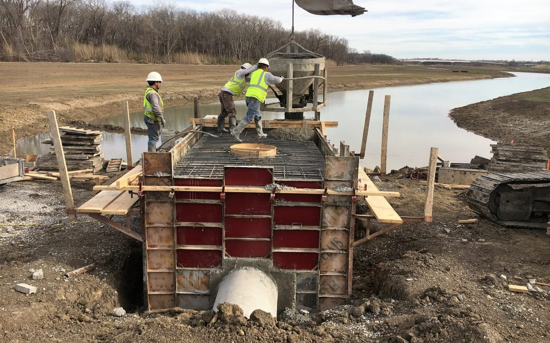Dallas Floodway Extension—Trinity River Upper Chain of Wetlands (UCOW), Dallas, Texas