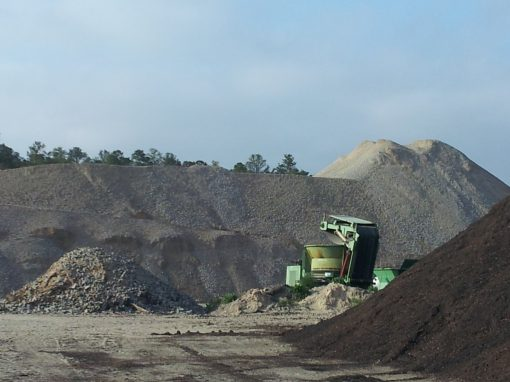 Lamont Landfill C&D Concrete Recycling  — Fort Bragg, North Carolina