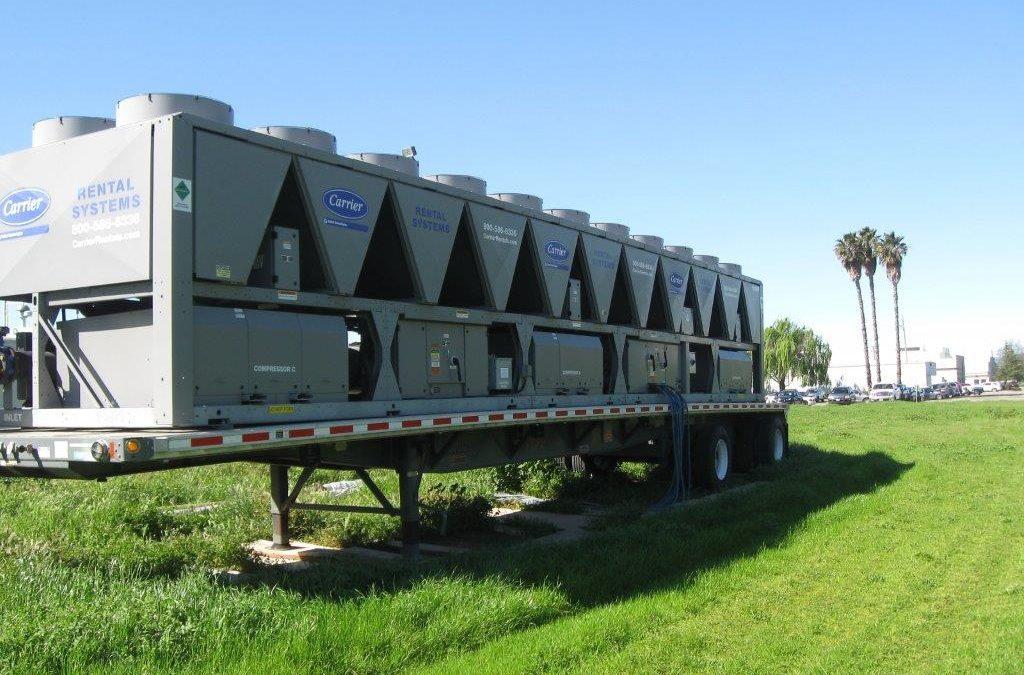 Temporary Chiller Installation at Building 779 – Travis AFB, California