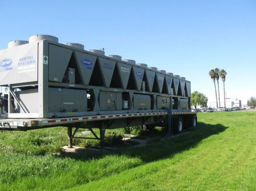 Temporary Chiller Installation at Building 779 – Travis AFB, California