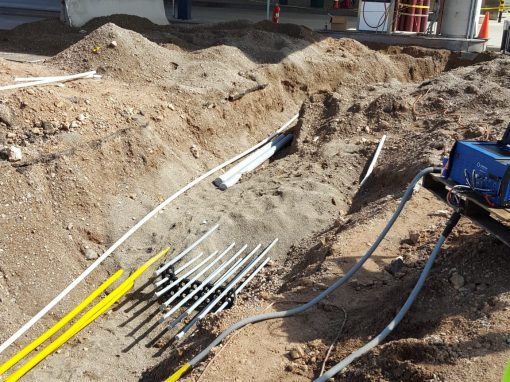 Stainless Steel Piping Installation at Compressed Natural Gas Station – Tucson, Arizona