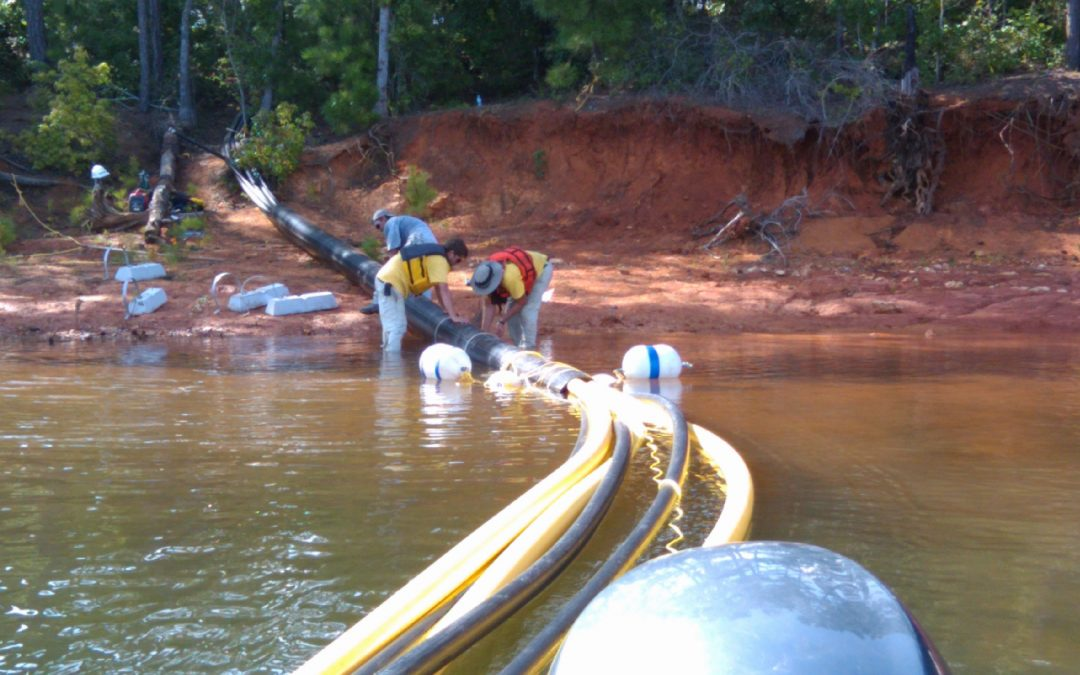 Oxygen Diffuser, Distribution Header, and Control Panel Subsystems – Lake Strom Thurmond, Georgia