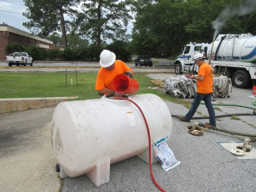 Heating Oil Spill Site Investigation, Building 419 – Fort Stewart, Georgia