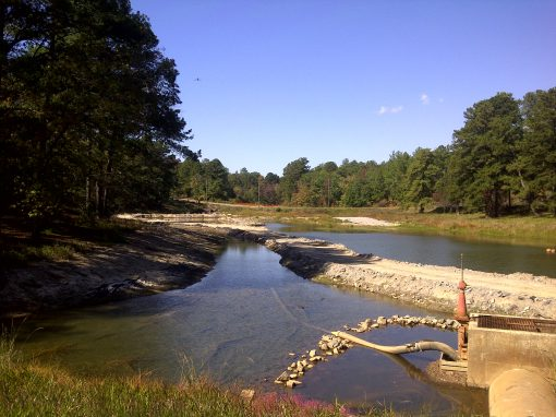 Sediment Removal at Wilkerson Lake – Fort Gordon, Georgia