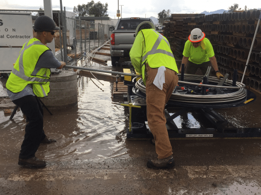 Fueling System Repairs at Robert Gray Army Airfield – Fort Hood, Texas