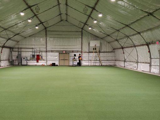 Stryker and Combat Readiness Training Facilities (CRTF) Tents- Fort Wainwright Military Base, Alaska