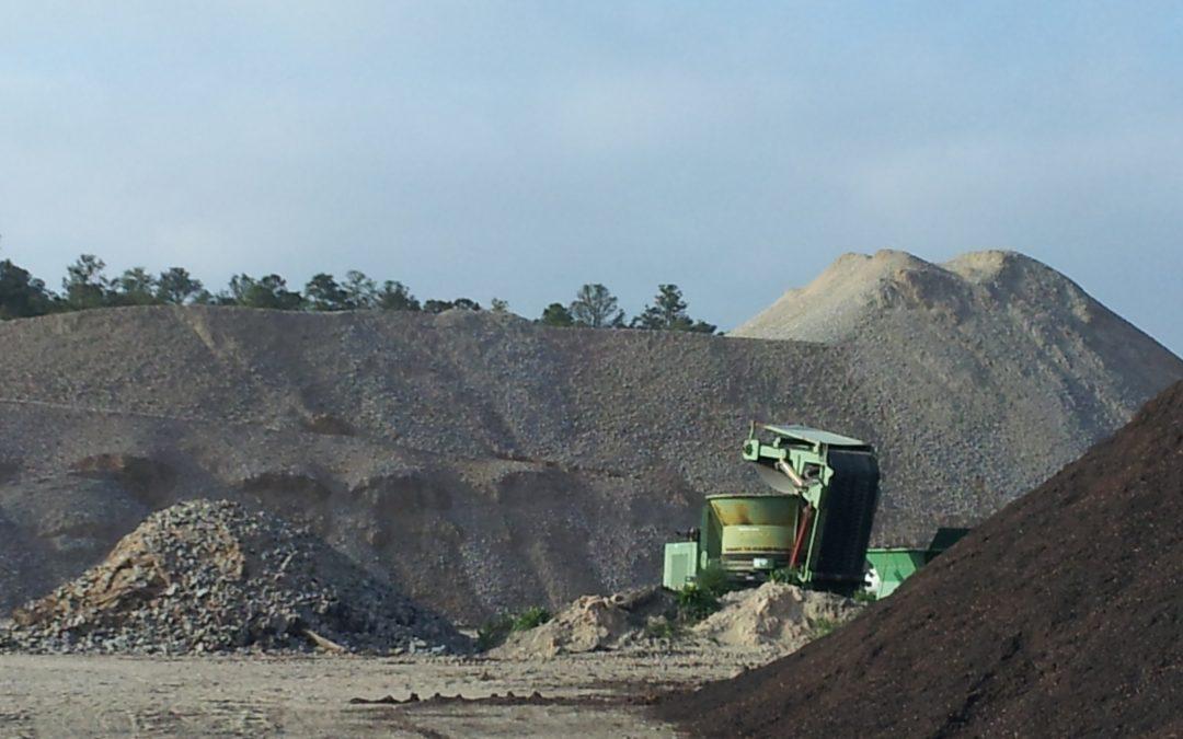Lamont Landfill C&D Concrete Recycling  — Fort Bragg, North Carolina
